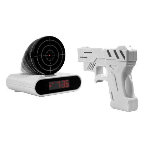 Digital-Wecker mit LCD Display Zielscheibe Infrarot