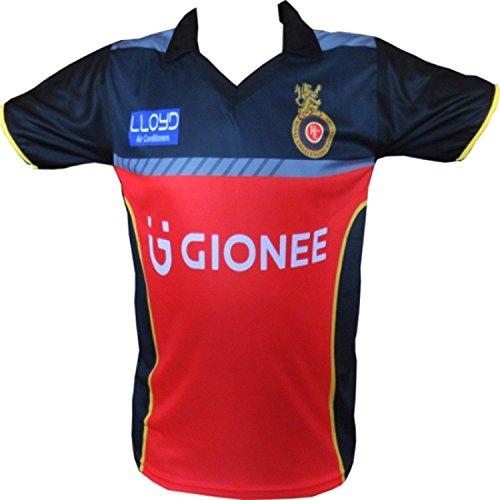 UNIQ Girl's IPL RCB T-Shirt (17-18 Years, Royal Challengers Bangalore)