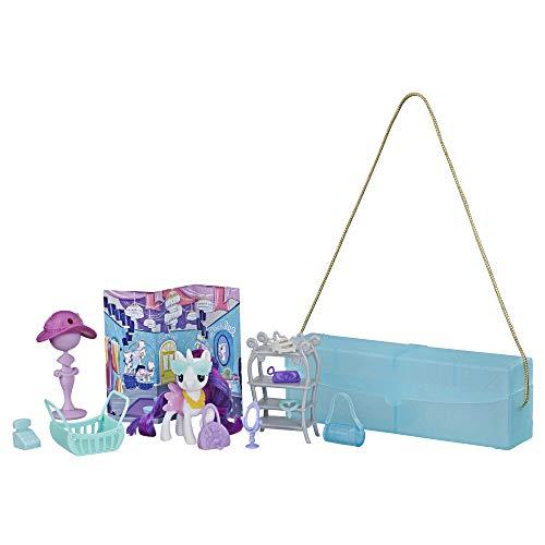 My Little Pony - Pochette de Voyage - Rarity - E5018 - Figurine + 14 Accessoires - Neuf