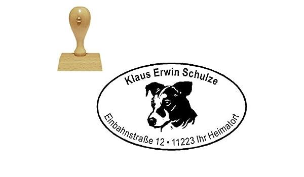 personalisierter Stempel Holzstempel « JACK RUSSEL TERRIER