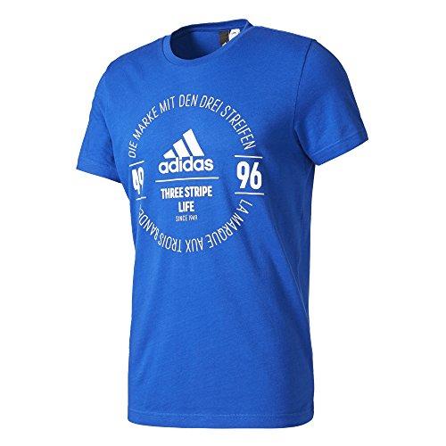 Tee Blu Logo reauni Tee 3xl Uomo Maglietta Adidas U1pnIxZqZ