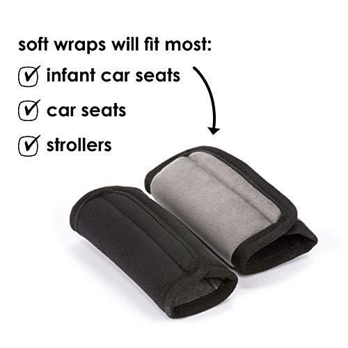 Diono 60250 Soft Wraps, Autositze Zubehör, schwarz - 5