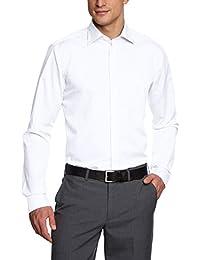 Seidensticker Herren Businesshemd Modern extra langer Arm mit Kent-Kragen bügelfrei