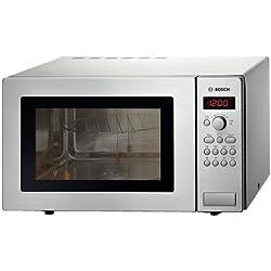 Bosch HMT84G451 Countertop 25L 900W Stainless steel microwave - microwaves (Countertop, 25 L, 900 W, Buttons, Stainless steel, 1200 W)