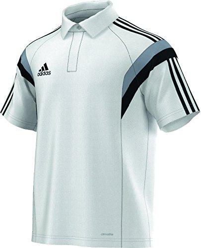 adidas Herren Poloshirt Condivo 14 Climalite White/Silver/Black