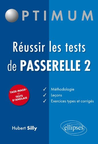 Réussir les Tests Passerelle 2 Tage Mage et Tests d'Anglais