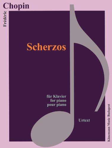 Chopin - Scherzos - pour piano : Partition