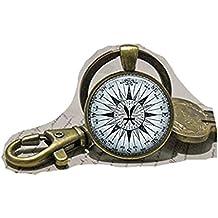 Brújula Zodiaco Piscis clave cadena, Astrología, clave cadena, joyería de Piscis Piscis clave cadena Símbolo Joyas símbolo llavero clave cadena
