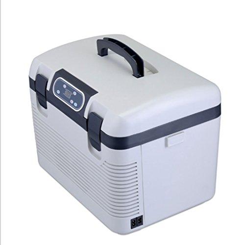 Q-HL Auto Elektrische Kühlschrank Kühlbox, 19L Auto Kühlschrank, tragbare Mini Kühlschrank, AC und DC Hotspot System, Thermostat.