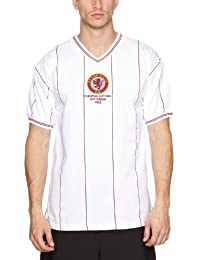 753e8cd7a6 Score Draw Official Retro Aston Villa - Camiseta de fútbol para hombre