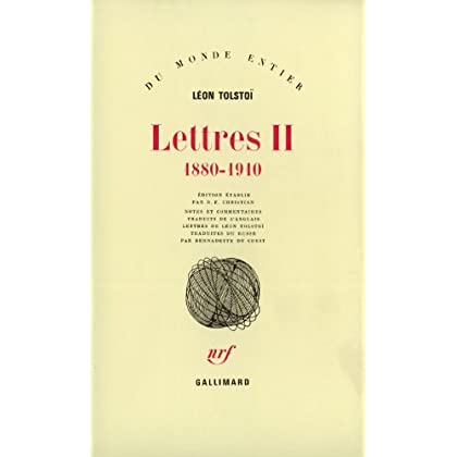 Lettres, tome 2 : 1880-1910