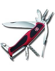 Victorinox Couteau de poche RangerGrip 74rouge/noir, 0.9723. CB1