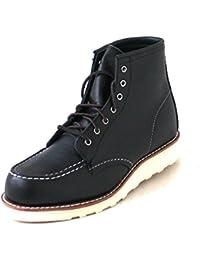 Red Wing Shoes Botas de Piel Para Mujer Negro Schwarz (Black), Color Negro, Talla 38,5