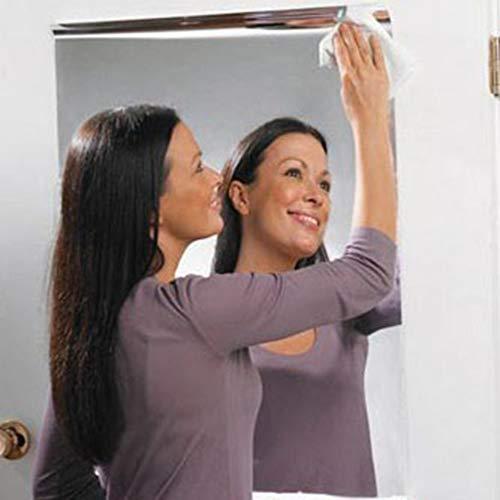 WEINANA Reflektierende Spiegelfolie PVC Selbstklebende Aufkleber Küche Home Restaurant Hotel 3D Marmor Hintergrund Tapete Home Ornament -