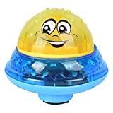MonLook Electric Induction Spray Ball Light Bathroom Infant Kids Water Bath Play Toy