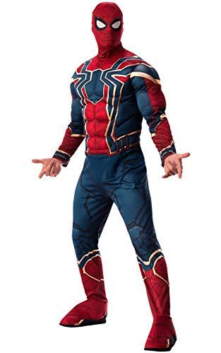 Rubie's Offizielles Avengers Iron Spider, Spiderman Deluxe Erwachsene Herren Kostüm