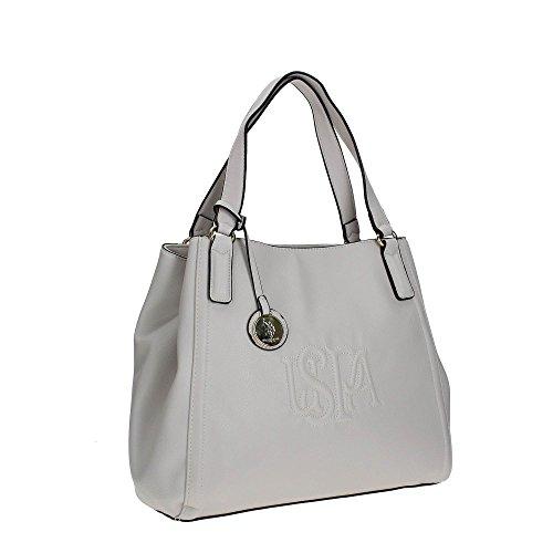 U.S. Polo Assn. BEUHR0115WV Borsa A Mano Donna White