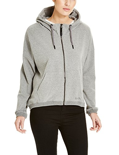 Bench Damen Strickjacke SPORADIC, Gr. Small, Grau (Mid Grey Marl GY101X)