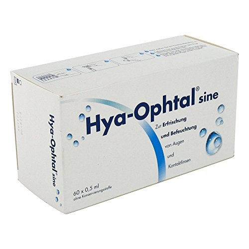 HYA OPHTAL sine Augentr., 60X0.5 ml