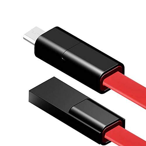 LayOPO reparierbares Handy-Datenkabel für iPhone, Android, Typ C, schnelles USB-Ladekabel, 1,5 m Red for Android