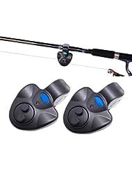 Mesigu Angelassistent - Indicador electrónico de picada para Pesca con Sonido (LED, indicador Luminoso