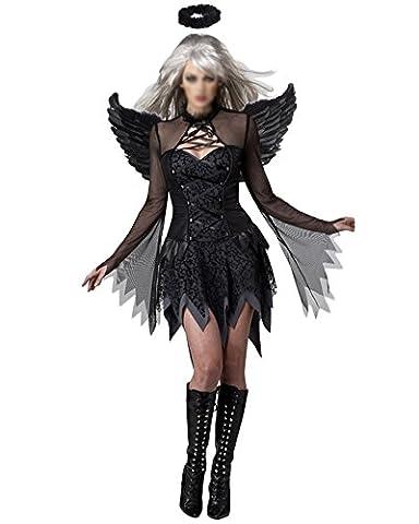 Adulte Femme Halloween - Femmes Sorcière Costumes Cosplay Robe Déguisement Démon