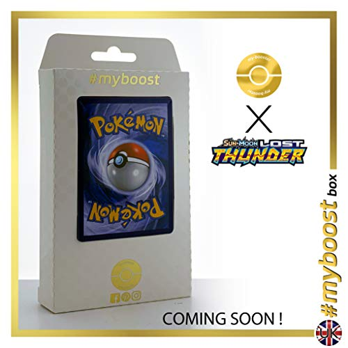 Shuckle-GX 17/214 - #myboost X Sun & Moon 8 Lost Thunder - Box de 10 cartas Pokémon Inglesas