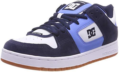 DC Shoes Manteca, Scarpe da Skateboard Uomo, Rosso White/Red-Combo Xrwr, 44 EU