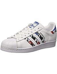 adidas Originals AF5666, Low-Top Uomo, Nero (Schwarz (Black/Black/Black)), 48 EU