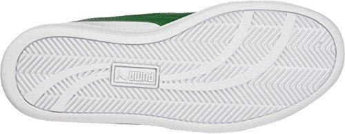 Puma Smash L, Sneaker Unisex-Adulto Bianco (White-verdant Green)