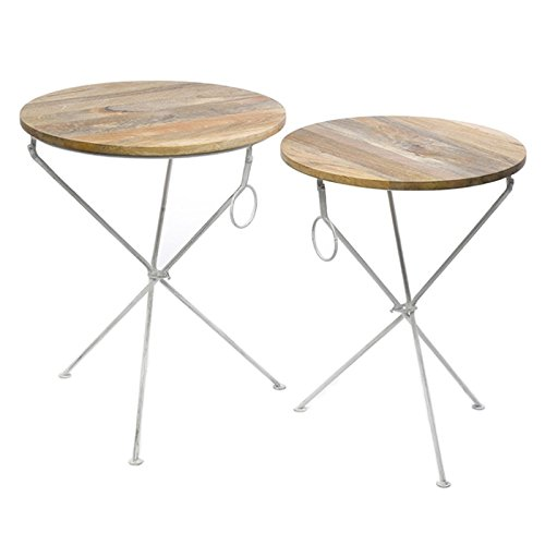 Jardin Table ronde blanc