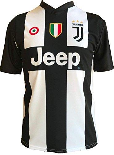 et Adultes 2 4 6 8 10 12 Ans JUVE T-Shirt Maillot de Football Cristiano Ronaldo 7 CR7 Juventus Nouveau Saison 2018-2019 Replica Officiel avec Licence S M L XL Tous Les Tailles Enfants