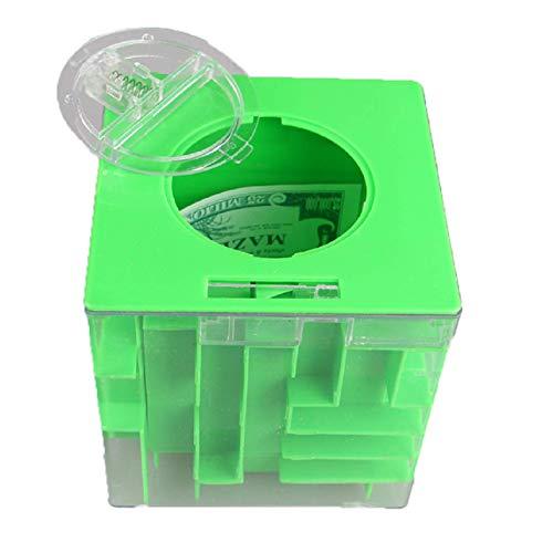 Ogquaton Laberinto creíble Money Bank 3D Puzzle Box