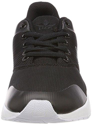 Geka Message, Sneakers Basses Mixte Adulte Noir (Schwarz Schwarz)