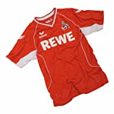 erima Kinder Trikot 1. FC Köln Away Jersey, red/white, 164, 151301