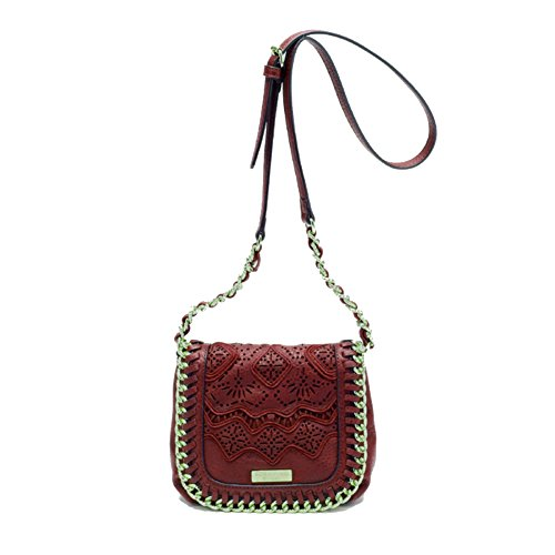 Borsa Scervino Street Cod. SCBPU0000047 Corine Rosso shoulder bag red borsetta donna outlet borse tracolla made in italy