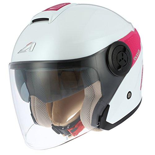 Astone Helmets - Casco de moto Jet DJ 10DJ10-2M-PWBXXL