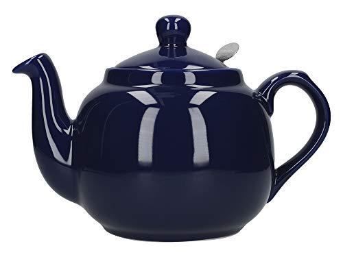 Dexam London Pottery Théière 4 tasses avec filtre Bleu cobalt