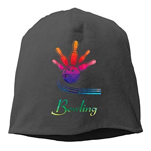 Funny Fashion Beanie Caps Bowling Gift Winter Beanie Skull Cap Warm Knit Ski ouchy Hat Durable - Blaue Ski-knit Beanie Cap