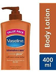 Vaseline Intensive Care Cocoa Glow Body Lotion, 400ml