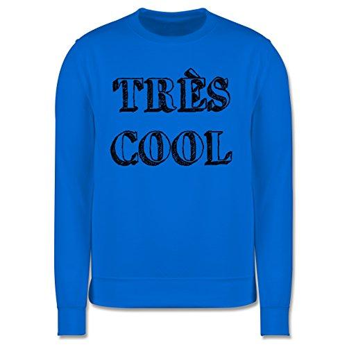 Statement Shirts - Très cool - Herren Premium Pullover Himmelblau