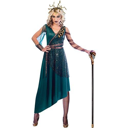Amscan Medusa Kostüm - Halloween Kostüm Damen