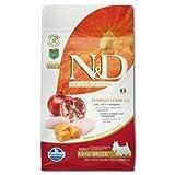 Farmina N&D Getreidefrei Adult Mini Kürbis, Huhn & Granatapfel für erwachsene Hunde kleiner Rassen - Komplettfuttermitel., Kilogramm:2.5 kg