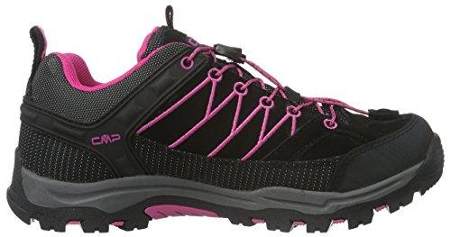 CMP Rigel, Chaussures de Trekking et Randonn&Eacutee Mixte Adulte Gris - Grau (Antracite-HOT Pink 515Q)