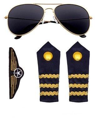 Widmann–Set Kostüm Pilot, Einheitsgröße (00085)