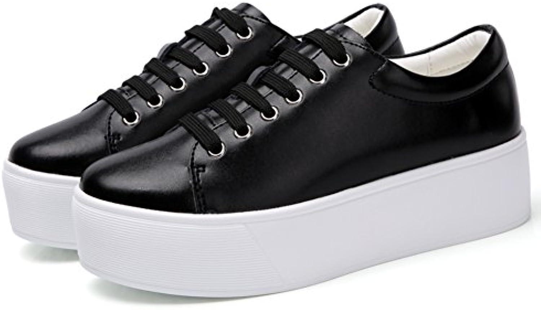 La Primavera,Señora,Zapatos De Plataforma/Suela De Gruesa,Cordón,Zapatos Del Tablero Del/Ocio,Pequeños Zapatos...