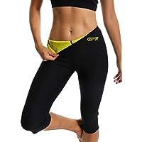 Gr Figurformende Fitness Schwitzhose XXL Easy Shapers strafft und formt die Figur 48-50 sofort sichtbar schlanker Hot schwarz st/ützt
