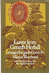 Leaves from Gerard's Herball: Arranged for Garden Lovers