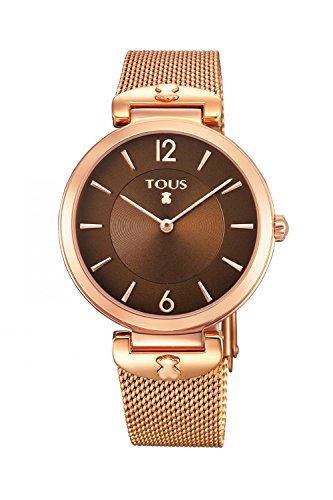 dda4de8e6e3a Reloj Tous S-Mesh acero IP Rosa 700350290