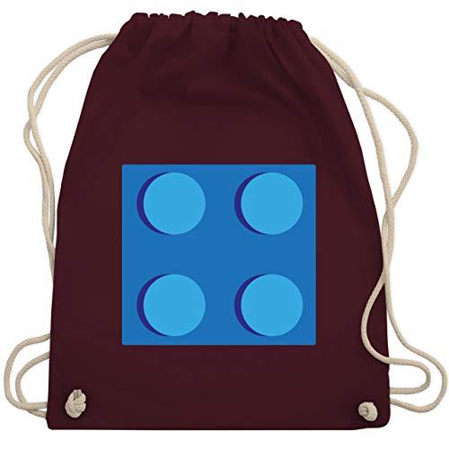 Karneval & Fasching - blauer Stein 4 - Unisize - Bordeauxrot - WM110 - Turnbeutel & Gym Bag